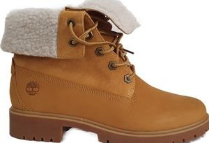 Timberland Women's Jayne WP Fleece Fold-Down Boots